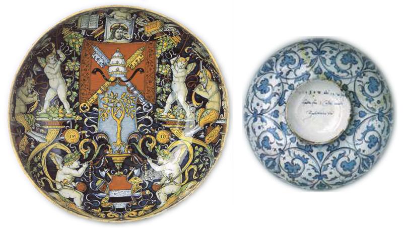 maiolica, forma aperta, Bernard Rackham, Victoria and Albert Museum