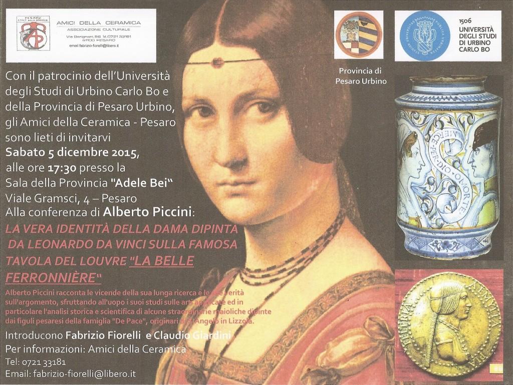 Locandina conferenza Pesaro