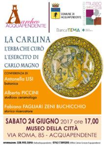 Locandina Conferenza La Carlina